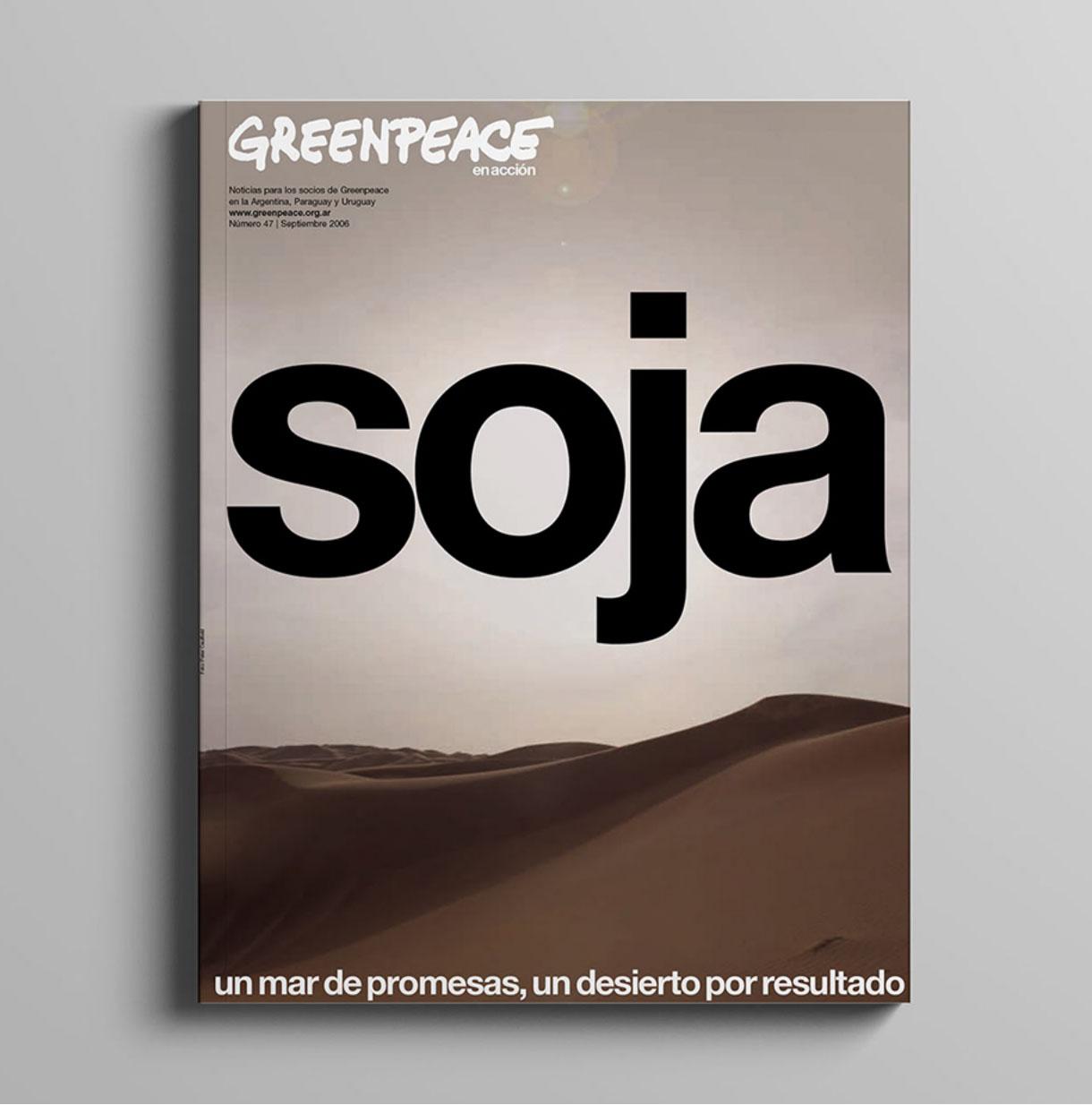 Greenpeace Argentina magazine