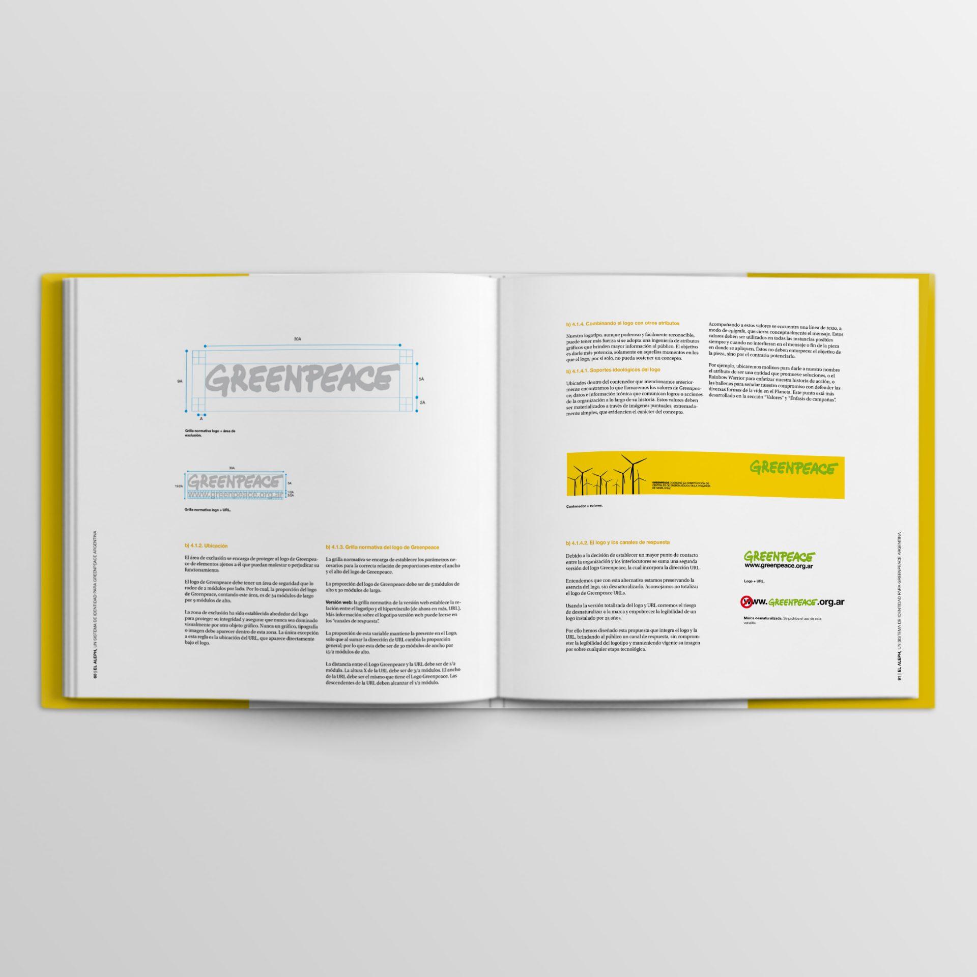 Greenpeace brandbook